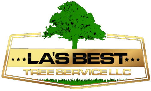las best tree service logo